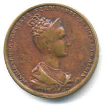MARIA ANNA AUGUSTA MEDAGLIA INCORONAZIONE PRAGA  1836