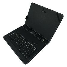Universal Leather Micro USB Keyboard Case Cover for 10.1 inch Tablet PC MID Pad