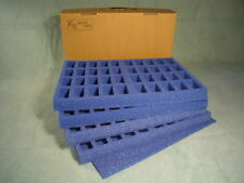 KR Case, wargaming figure case & foam trays carry 160 troop, 25mm bases(E-186)