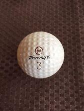 Logo Golf Ball-Vintage Tommy Armour 75 #3.Worthington