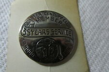 Vintage H.P. Hood Milk Boston, MA 35 Years Service Quarter Century Club Badge