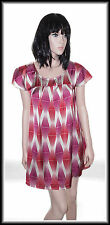 H&M Women's Open Cap Sleeve Graphic Print  Dress size UK 12  EUR 40