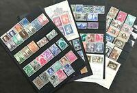 VATICANO 1957-60: 4 annate complete con foglietto Bruxelles + 2 cartoline