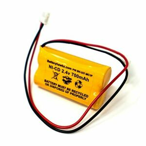 2.4v 700mAh Ni-CD Battery Pack Replacement for Exit Sign Emergency Light