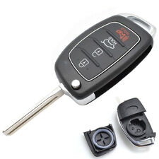 Car Remote Key Fob Shell For Hyundai Santa fe Sonata i40 Tucson 4 Buttons