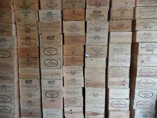 Wooden Wine Box Crate ~ 12 bottle ~ French Genuine Storage Drawer Planter Hamper