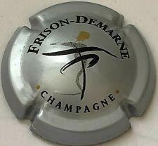 Capsule de Champagne DEMARNE-FRISON (3b. Argent nom inversé)