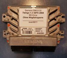 RENAULT SIEMENS ems3132 Dispositif de commande TWINGO désactivés/sans dispositif d'immobilisation