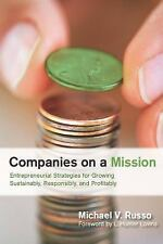Companies on a Mission: Entrepreneurial Strategies for Growing-ExLibrary
