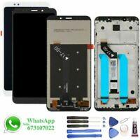 Pantalla para Xiaomi Redmi 5 Plus CON Sin MARCO LCD Tactil Táctil Negra Blanca