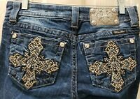 Miss Me Mid-Rise Easy Boot Denim Jeans. Size 25 Rise 7 Waist 30X31L