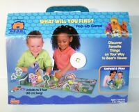 Jim Henson's Bear in the in Big Blue House What Will You Find Pop Up Game 1999