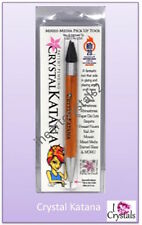 CRYSTAL KATANA Rhinestone Crystal Pick Up Tool Ninja Wax Stick Flatbacks Chatons