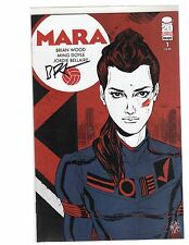 Mara 1 signed by Brian Wood  NM First Print w/COA
