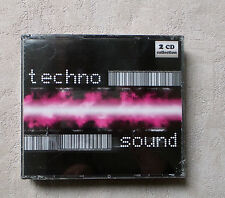 CD AUDIO INT/ COFFRET 2XCD TECHNO SOUND 24 TRACK KCD211 VARIOUS ARTISTS NEUF NEW