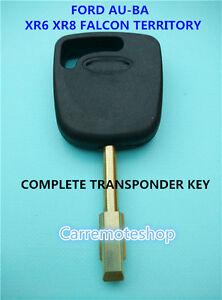 Ford  AU to  BA Falcon, Mondeo, Territory & Transit Transponder Key