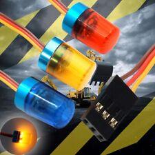 Drehende LED Blitzlicht Warnleuchte für 1/10 RC Car Polizei Auto/Modellbau Lampe
