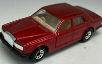 Matchbox Superfast No 66 Rolls Royce Silver Spirit in Metallic Red - VNM