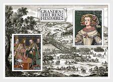 france 2018 French History Treaty Pyrenees Spanish crown Bidassoa horse ms2v mnh