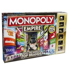 Monopoly Empire Board Game 2016 The World's Top Brands & Gold Tokens by Hasbro