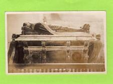 Earl Surrey's Tomb Framlingham Church RP pc used 1915 John Self Ref B952