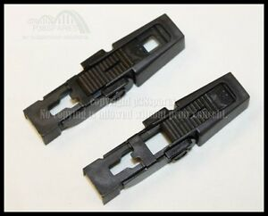 WINDSCREEN WIPER BLADE TO ARM RETAINING CLIP FIT RANGE ROVER L322   DOUBLE PACK