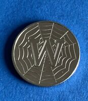 Rare 2019 Alphabet A-Z 10p Ten Pence Coin W - World Wide Web From Sealed Bag