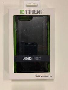 Apple iPhone 7 Plus  iPhone 8 Plus Aegis Series Case Black New In Box Free Ship
