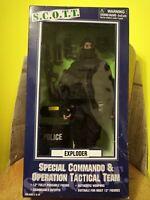 "SCOTT Special commando operational & tactical team 12"" action figure ""Exploder"""