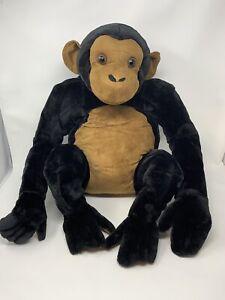 MELISSA AND & DOUG Monkey Large Giant Plush Chimp Stuffed Animal Ape ~ EXCELLENT