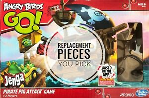 Angry Birds GO! Pirate Pig Attack Jenga Game Replacement Parts - You Pick!