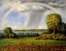 Sunrise Over Kansas : John Steuart Curry : 1941 : Archival Quality Art Print