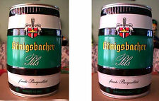 KONIGSBACHER PILS - EARLY 1970'S 5 LITER CAN - KOBLENZ GERMANY - SUPER CLEAN