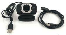 Logitech C615 Web Cam - Black Additional USB extension cable 3ft swivel mount