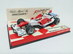 MINICHAMPS 1/43 - Panasonic Toyota Racing Showcar T. Glock 12 oct 2008 403080082