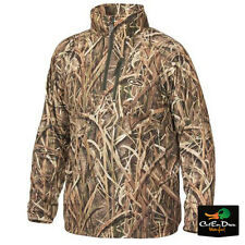 DRAKE WATERFOWL BREATHLITE ¼ ZIP PULLOVER SHADOW GRASS BLADES CAMO XL