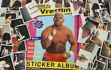 WCW EUROFLASH WRESTLING STICKERS FROM 1992 - Pick One Sticker WWF WWE