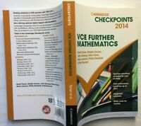 Checkpoints VCE FURTHER MATHEMATICS 2014
