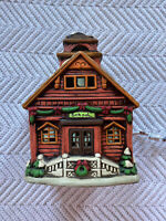 Vintage Lefton Colonial Village School Building 05819 Christmas Village EUC