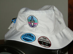 Bettinardi Windy City Wizard Bucket Hat, Imperial, Small / Med, White Sold Out!