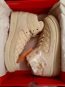 New Jordan 2 x Just Don GS, Beach, Size 7y, v2, bred, concord, scott, off