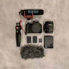 Canon EOS Rebel SL2 24.2 MP DSLR with extras!!! (videographer's bundle)