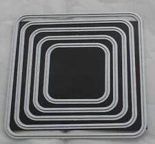 """Five Piece Nesting Die """"Rounded Corner Square """""""