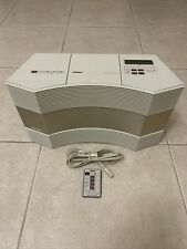 New listing Bose Acoustic Wave Music Sustem Model Cd-3000 With Remote