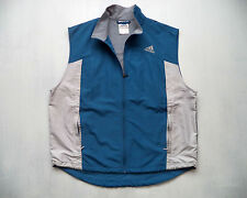 Womens ADIDAS fitness Vest Sz L running athletic track cycling hiking trail