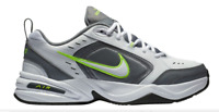 AUTHENTIC NIKE AIR Monarch IV White Grey Training Shoes Men size