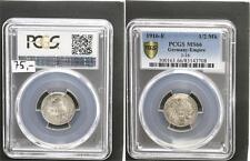 1/2 Mark Silber J.16 1916 E  Stempelglanz PCGS MS66