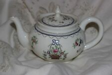 Aynsley Bone China Teapot Flowers in a Basket Rd No 628721