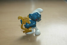 Harp Smurf Peyo Bully W.Germany 2.0070 Schtroumpfe Schlumpfe Puffi