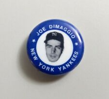Vintage JOE DiMAGGIO 1969 MLBPA Pin Back Button New York Yankees